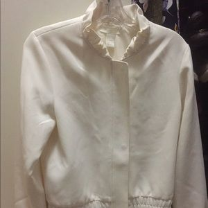 Women's H&M cream/white jacket